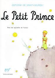 Le petit prince d'Antoine de St Exupéry